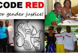 Highlighting: CODE RED for Gender Justice, on the International Day for the Elimination of Violence Against Women