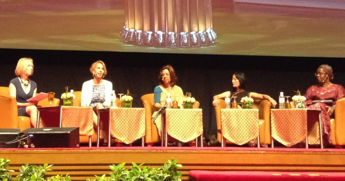 Women Deliver Presidential Session: Investing in Girls