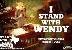 Watching History Unfold – Senator Wendy Davis filibusters archaic abortion law in Texas