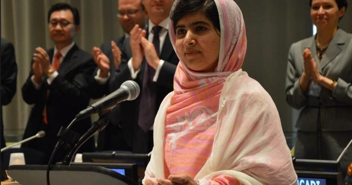 Malala Yousafzai: One Child, One Teacher, One Pen and One Book Can Change The World
