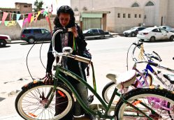 Girls like Wadjda on Bicycles!