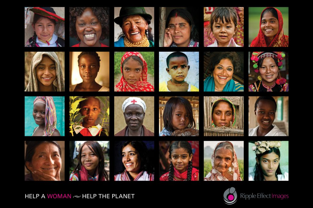 Help a Woman, Help the Planet - Girls' Globe