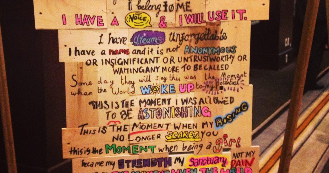 The Girl Declaration!
