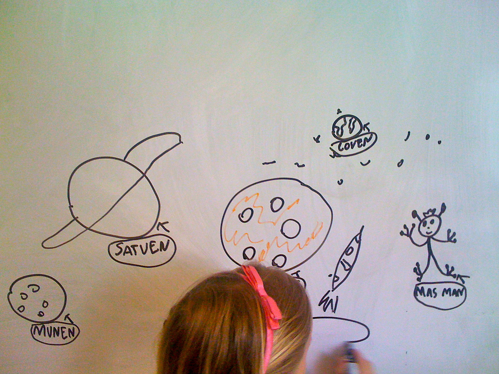 We need inspiring change in stem girls 39 globe for Easy whiteboard drawings