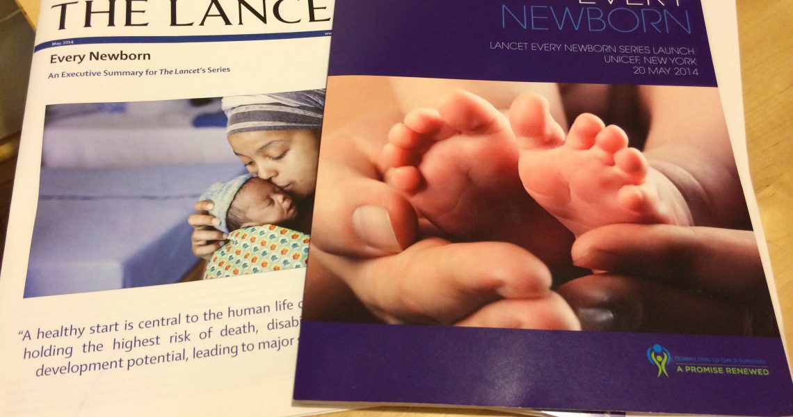 The Lancet Every Newborn Series: A healthy start to life – for every mother and child