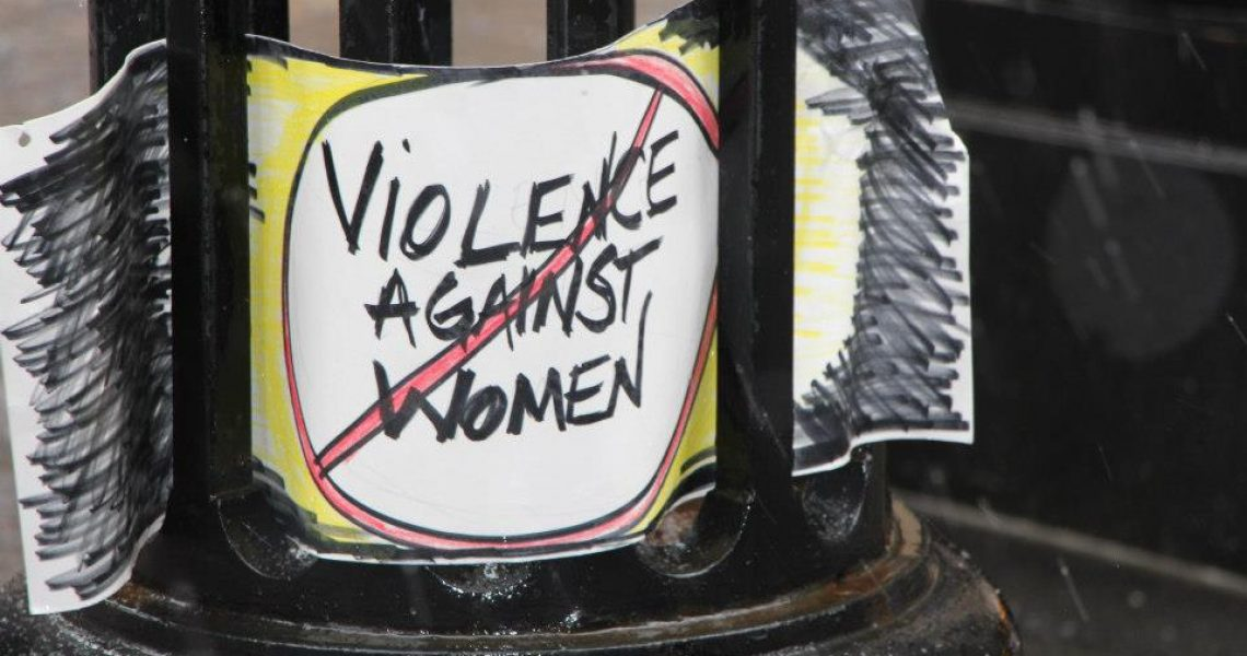 Violence Against Women – What's the Joke?