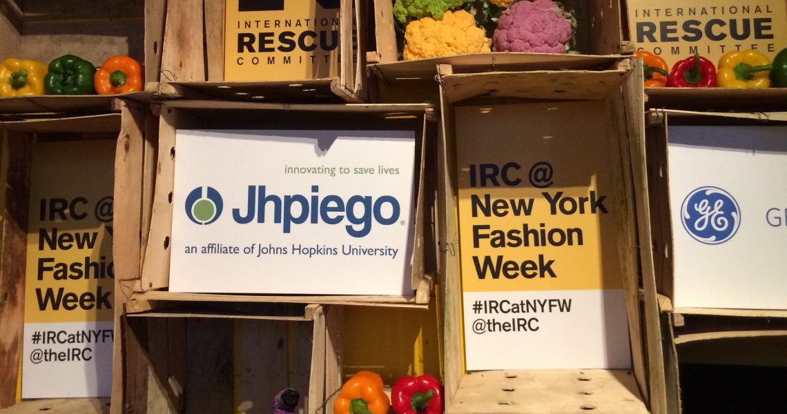 Innovation saves lives: Unveiling of the new Ebola suit by Jhpiego at NY Fashion Week