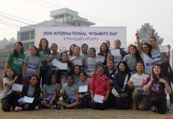 Inspiring Girls to Run for Parity!