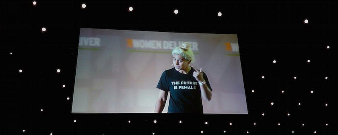 """""""Shake S**t Up!"""": Kiran Gandhi Talks Stigma"""