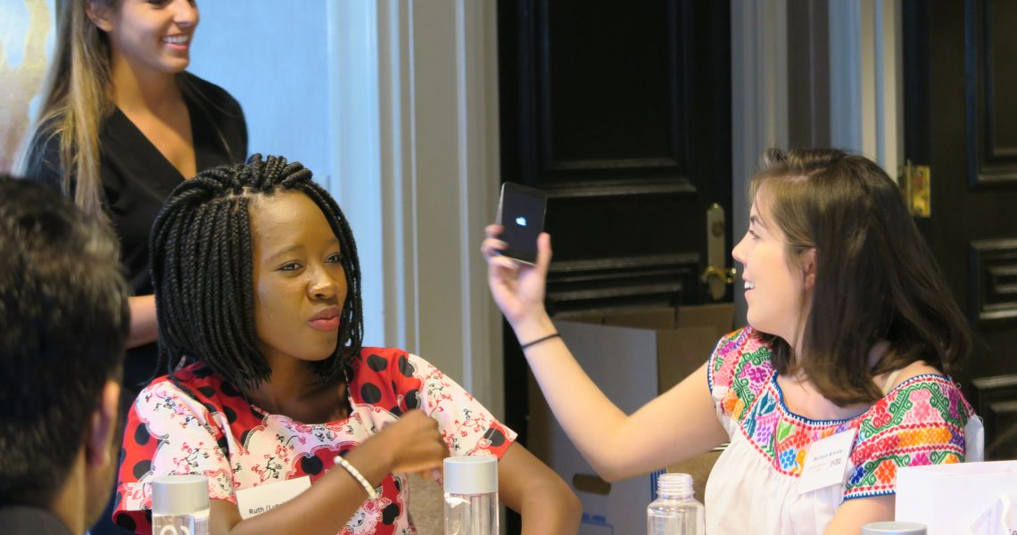 Young Leaders and Johnson & Johnson  work together to reach Global Goals
