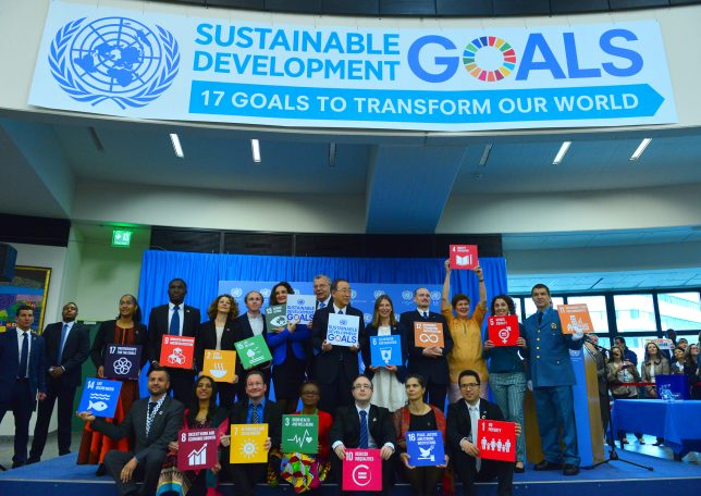 Involving Young People in the Global Goals