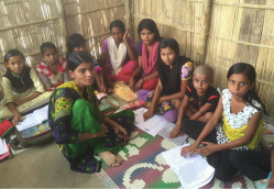 Encouraging Girls to Take on the World through Education Centres in India