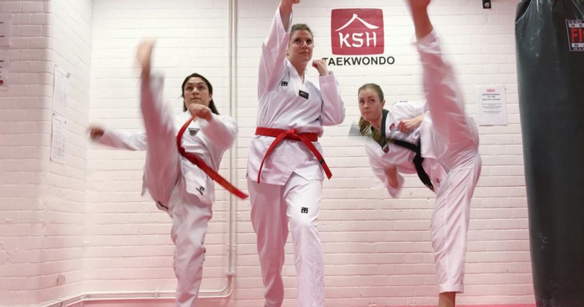 Blood, Sweat and Sequins: Three Women on Taekwondo - Girls