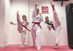 Blood, Sweat and Sequins: Three Women on Taekwondo