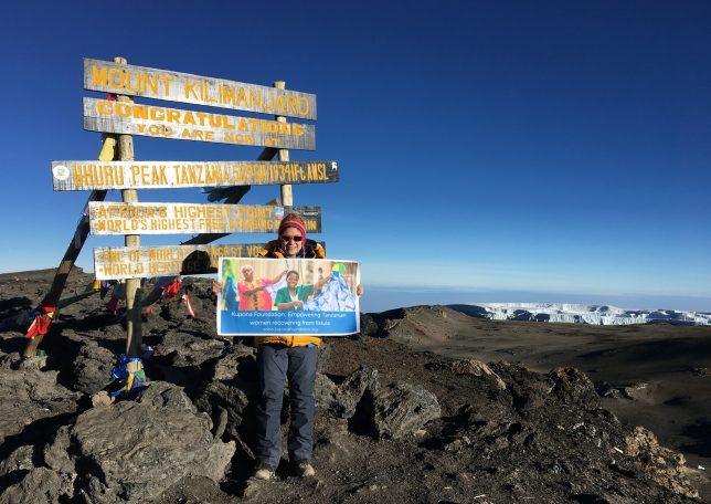 Shero Sara Conquers Kilimanjaro