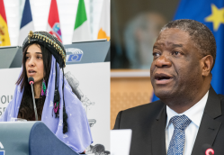 Noble Peace Prize Awarded to Nadia Murad & Denis Mukwege