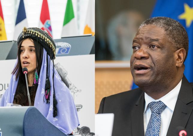 Noble Peace Prize Awarded to Nadia Murad & Denis Mukwege