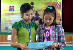 Raising the Girl Agenda in Myanmar