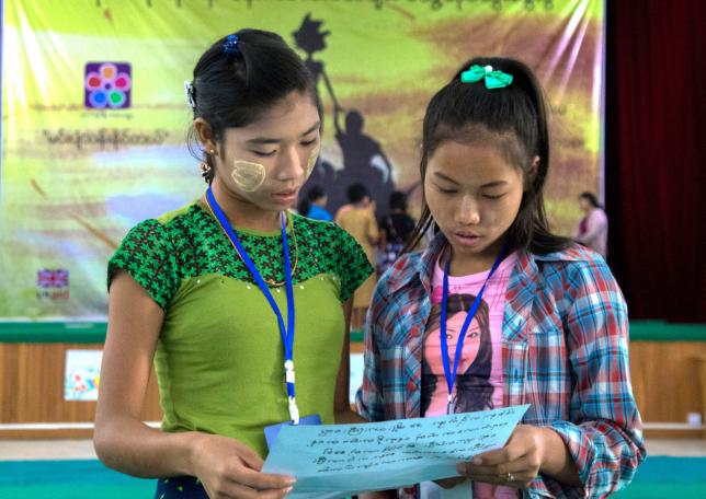 Raising the Girl Agenda in Myanmar