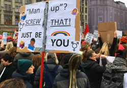 Women's March 2019: Same Photos, Different Story