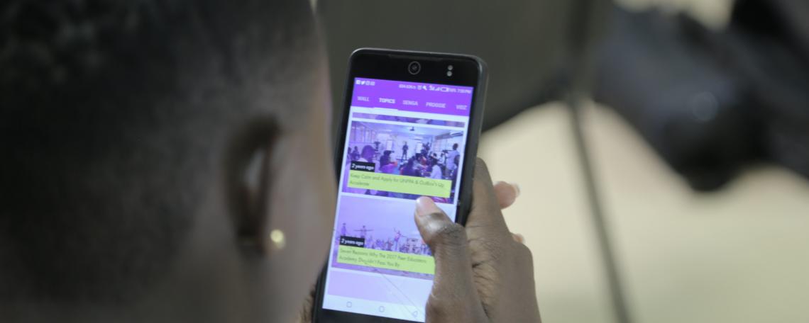The App Empowering Young Women in Uganda