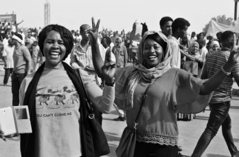 Blue for Sudan: the road to democracy